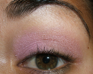 tutorial frescopink007 Soft Pink Look Using Fresco Rose Paint Pot