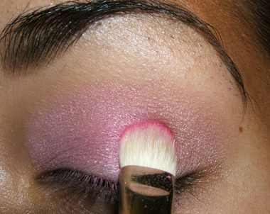 tutorial frescopink010 Soft Pink Look Using Fresco Rose Paint Pot