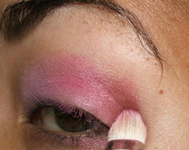 tutorial frescopink013 Soft Pink Look Using Fresco Rose Paint Pot