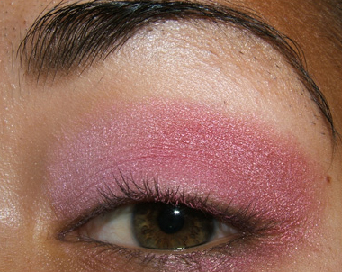 tutorial frescopink015 Soft Pink Look Using Fresco Rose Paint Pot
