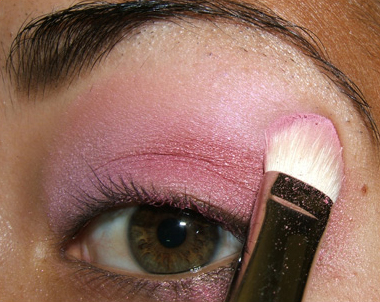 tutorial frescopink017 Soft Pink Look Using Fresco Rose Paint Pot