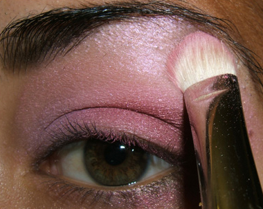 tutorial frescopink020 Soft Pink Look Using Fresco Rose Paint Pot