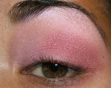 tutorial frescopink023 Soft Pink Look Using Fresco Rose Paint Pot