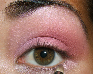 tutorial frescopink025 Soft Pink Look Using Fresco Rose Paint Pot