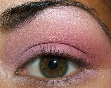 tutorial frescopink026 Soft Pink Look Using Fresco Rose Paint Pot