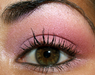 tutorial frescopink027 Soft Pink Look Using Fresco Rose Paint Pot