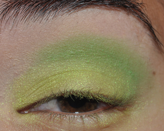 makeup tutorials for green eyes. Tutorial: Colorful Green Eyes