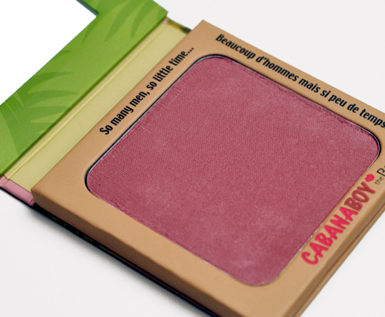 60ae96414966 theBalm Cabana Boy Blush Review