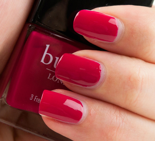 butter LONDON Blowing Raspberries Nail Lacquer Review, Photos, Swatches