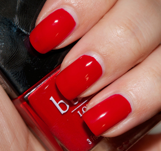 butter LONDON Pillar Box Red Nail Lacquer Review, Photos, Swatches