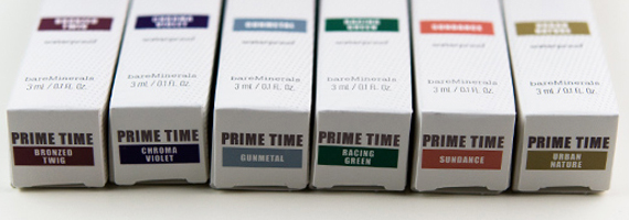 bareMinerals Prime Time Primer Shadows Review, Photos, Swatches