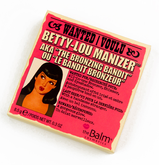 theBalm Betty Lou-Manizer