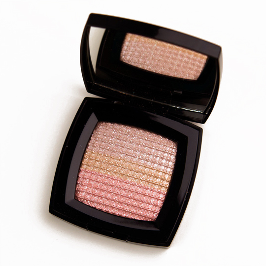 Chanel Beiges Ombres Tissees Effets Iridescents Yeux Iridescent Effects Eyes
