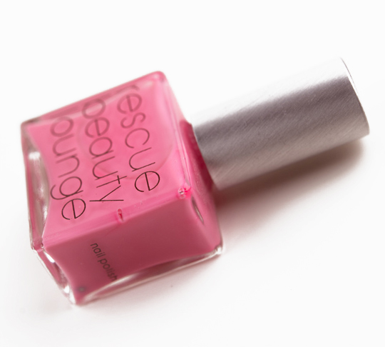 Rescue Beauty Lounge Pepto Pink Nail Lacquer