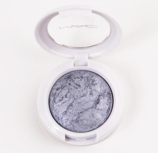 MAC Frozen Blue Mineralize Eyeshadow