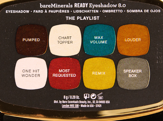 bareMinerals The Playlist Holiday Eyeshadow Palette