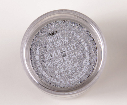 MAC White as Snow Crushed Metallic Pigment