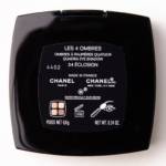 Chanel Eclosion Les 4 Ombres Eyeshadow Quad