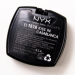 NYX Kiss in Casablanca Eyeshadow