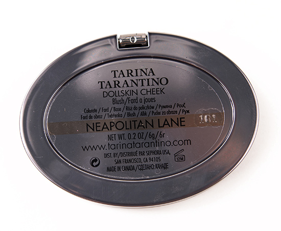 Tarina Tarantino Neopolitan Lane Dollskin Cheek Blush