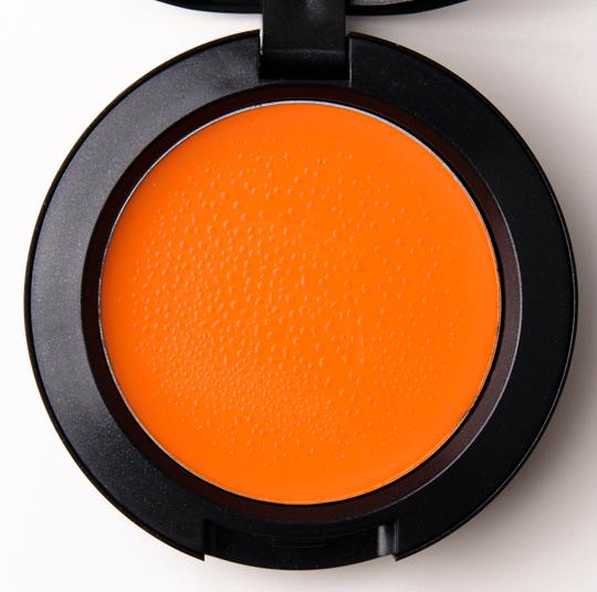 mac cremeblend blush optimistic orange
