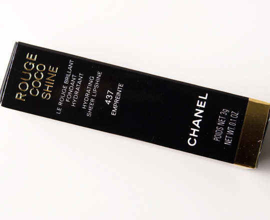 Chanel Empreinte Rouge Coco Shine