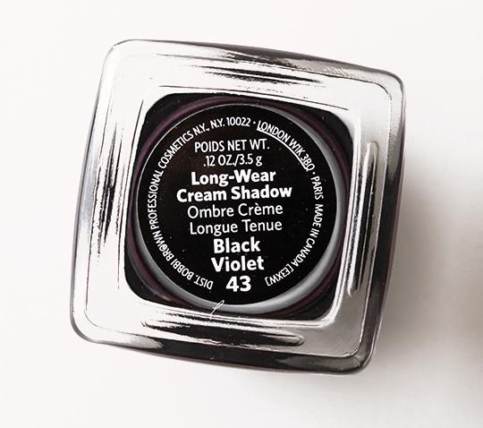Bobbi Brown Black Violet Long-Wear Cream Shadow