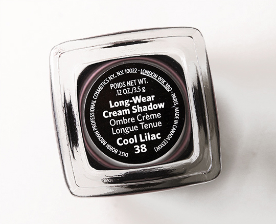 Bobbi Brown Cool Lilac Long-Wear Cream Shadow