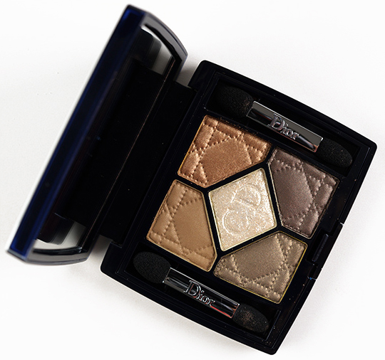 Dior Golden Savannah 5 Couleurs Iridescent Eyeshadow Palette