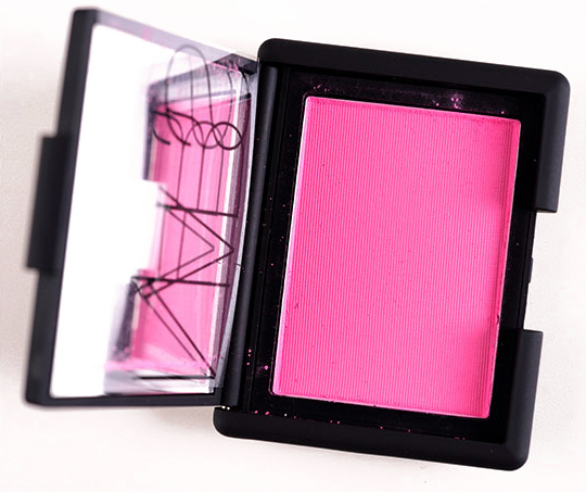Nars blush swatches desire to learn