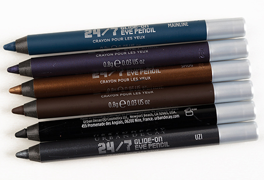 Urban Decay Smoked 24/7 Glide-On Eye Pencil Set