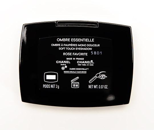 Chanel Rose Favorite Soft Touch Eyeshadow