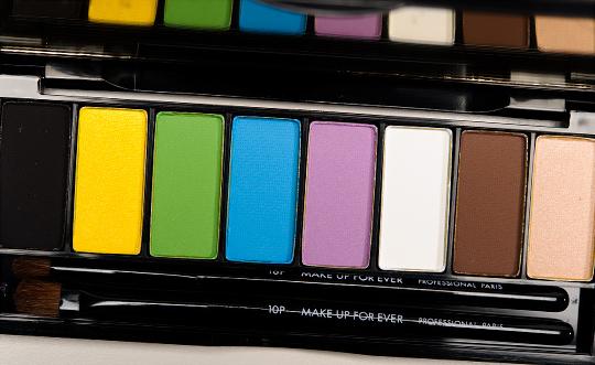 Ever Technicolor Eyeshadow Palette