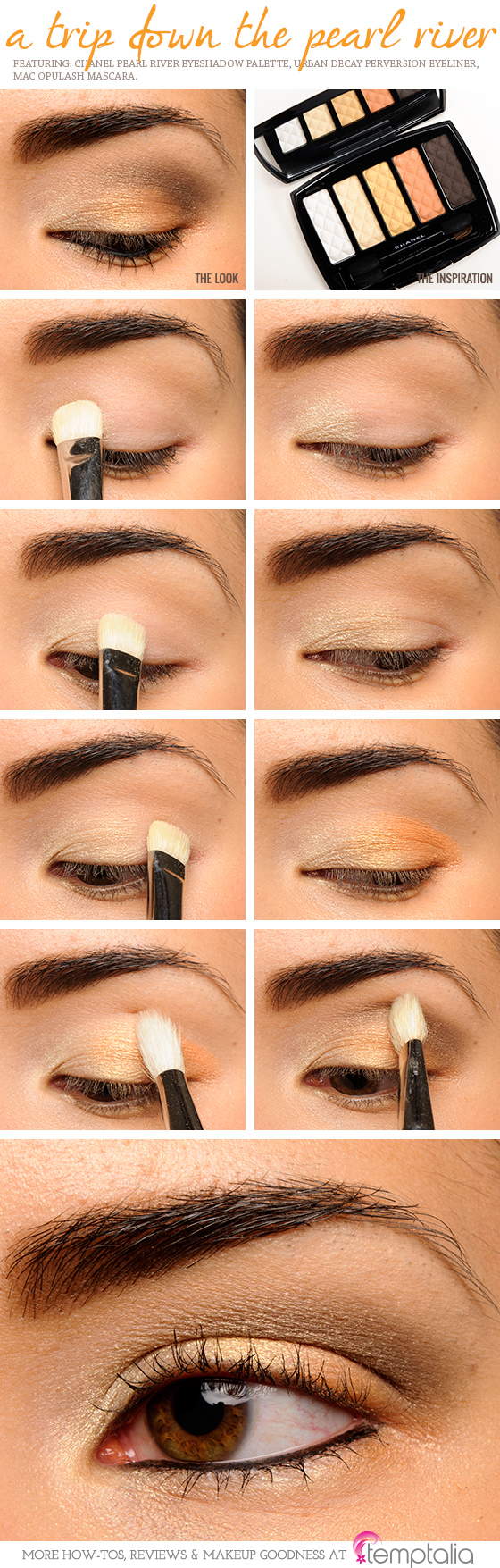 Chanel Pearl River Ombres Matelassees Eyeshadow Palette
