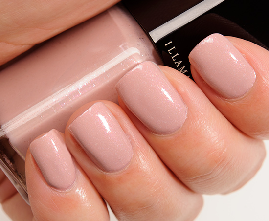 Illamasqua Pink Raindrops Nail Varnish
