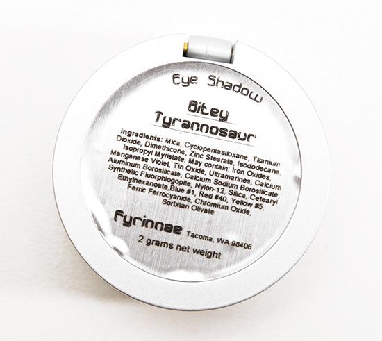 Fyrinnae Bitey Tyrannosaur Eyeshadow