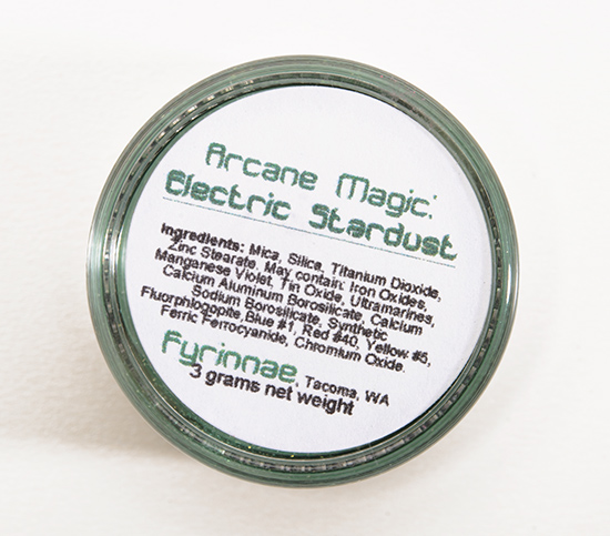 Fyrinnae Electric Stardust Arcane Magic Eyeshadow