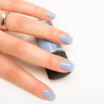MAC Bleu Velvet Nail Lacquer