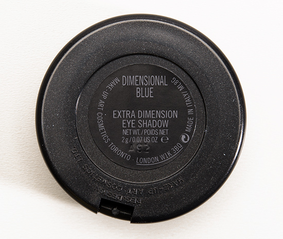 MAC Dimensional Blue Extra Dimension Eyeshadow