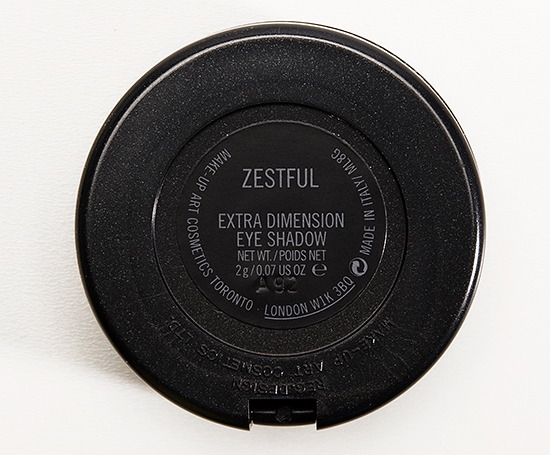 MAC Zestful Extra Dimension Eyeshadow