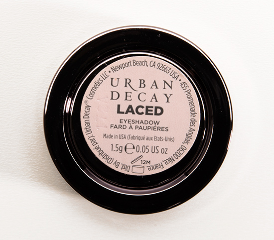 Urban Decay Laced Eyeshadow