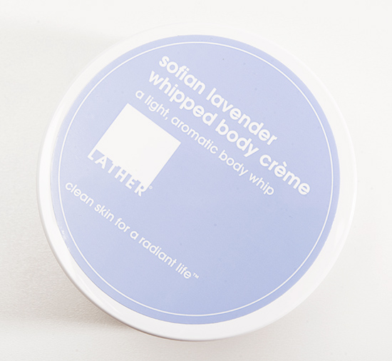 LATHER Sofian Lavender Whipped Body Creme