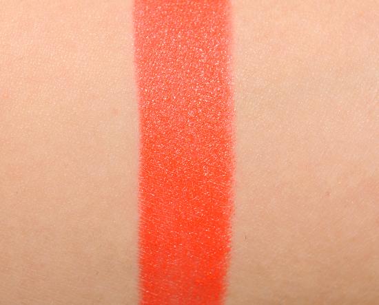 MAC Neon Orange Lipstick