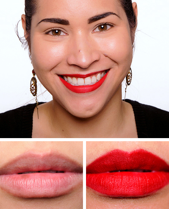 MAC RiRi Woo Lipstick Review, Photos, Swatches