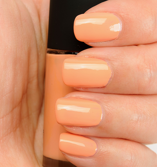 MAC All About Orange Nail Lacquer Reviews, Photos, Swatches