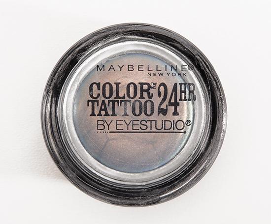 Maybelline Seashore Frosts 24HR Color Tattoo Eyeshadow
