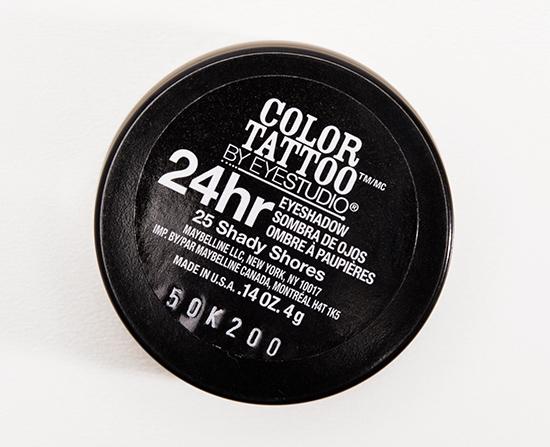 Maybelline Shady Shores 24HR Color Tattoo Eyeshadow