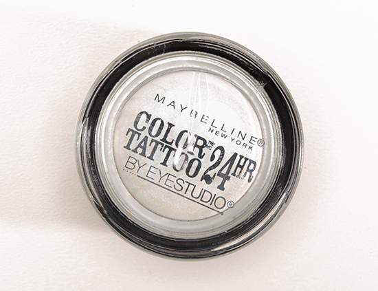 Maybelline Waves of White 24HR Color Tattoo Eyeshadow