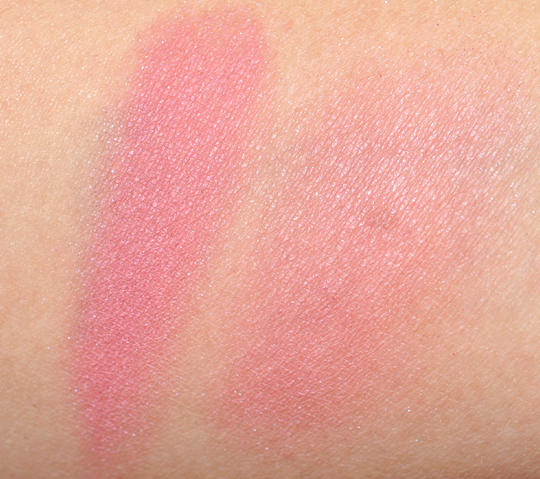 23b4b5b5 MAC Dame Powder Blush Review & Swatches