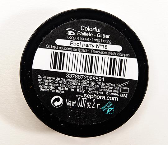 Sephora Pool Party (18) Colorful Eyeshadow